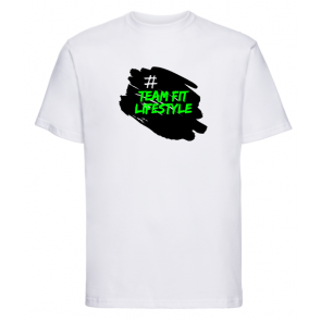 T-shirt Russell Blanc Team Fit Lifestyle
