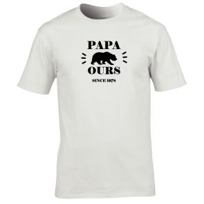 Tshirt Papa Ours