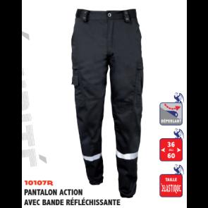 Pantalon Action Avec Bande Réfléchissante