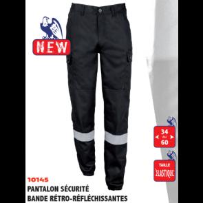 Pantalon Action Avec Bande Retro-Réfléchissante