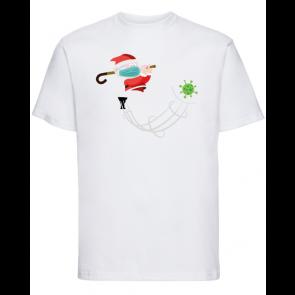 T-shirt Russell Golf de Noël