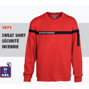 Sweat Shirt Sécurité Incendie