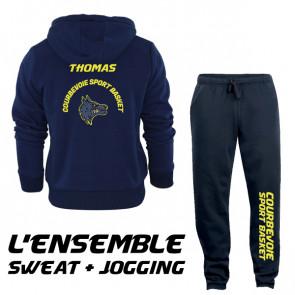Ensemble Sweat + jogging