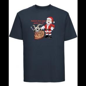 T-shirt Russell Père Noël énervé