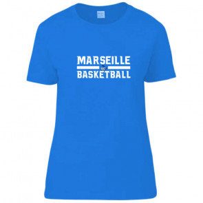 T-shirt femme Royal Marseille Basketball