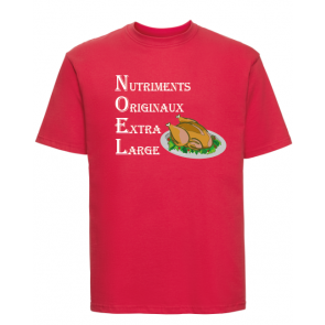 T-shirt Russell Repas de Noël