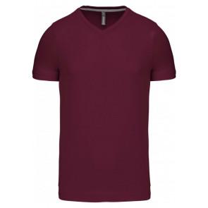 T-shirt manches courtes Col V Kariban Unisexe
