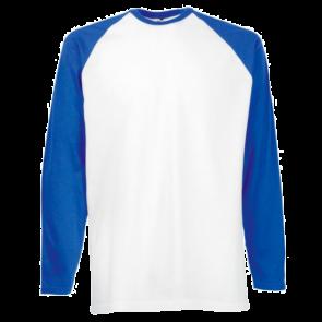 T-shirt manches longues baseball