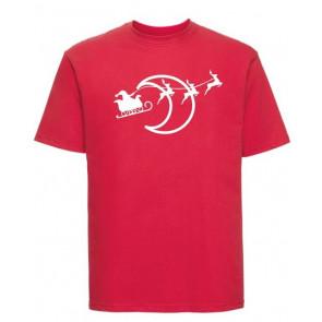 T-shirt Russell Traîneau avec lune