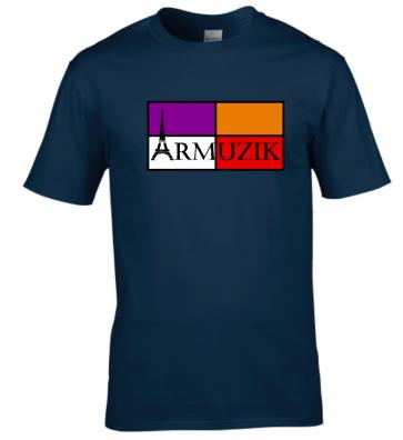 T-shirt Unisexe Armuzik Logo Face