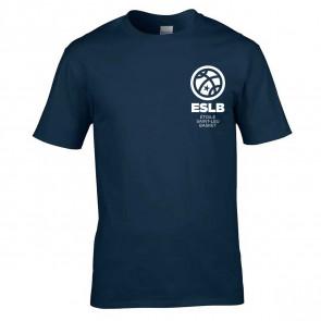 T-shirt Marine logo coeur Saint-Leu
