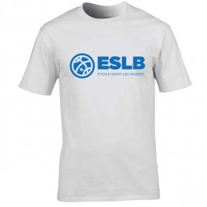 T-shirt Blanc logo poitrine Saint-Leu