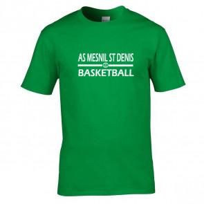 T-shirt Vert ASMD Basketball