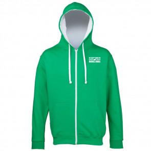 Veste contrastée Vert/Blanc BFEPH