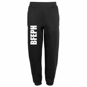 Jogging coton noir BFEPH