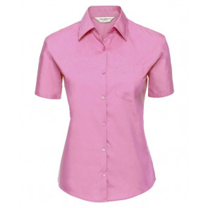 Chemise manches courtes popeline Russell Femme