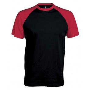 T-shirt manches courtes contrasté Kariban