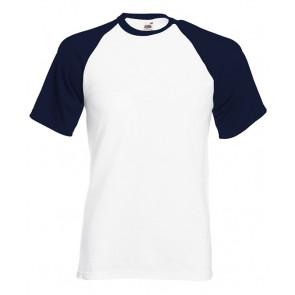 T-shirt manches courtes contrasté Fruit of the Loom