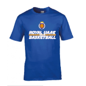 T-shirt Royal UAAE Basket
