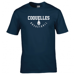 T-shirt Navy Coquelles