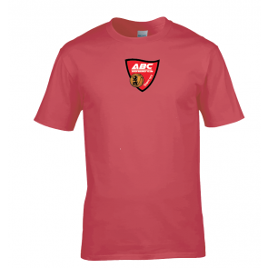 T-shirt Rouge Auch Basket