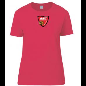 T-shirt Rouge coupe femme Auch Basket