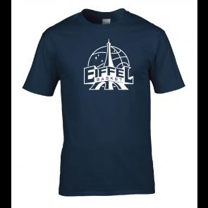 T-shirt Navy unisexe Eiffel Basket
