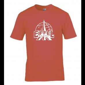 T-shirt Rouge unisexe Eiffel Basket