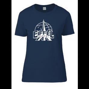 T-shirt Navy femme Eiffel Basket