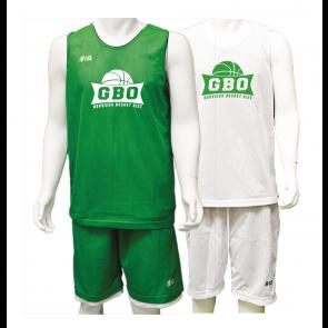 Ensemble Reversible Vert et Blanc Gouvieux Basket