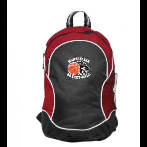 Sac à dos Rouge et Noir Montataire Basket