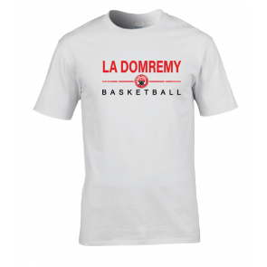 T-shirt Blanc La Domremy Basket