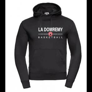 Sweat Russel Noir La Domremy Basket