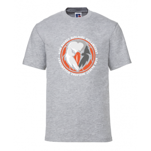 T-shirt Gris clair Unisexe logo rond ACBB Basket