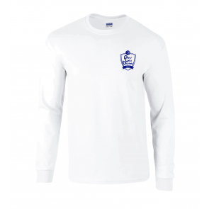 T-shirt manches longues blanc PLB