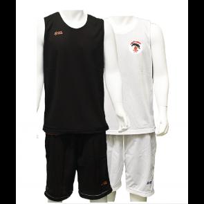 Reversible d'entrainement Noir et Blanc logo coeur UST BASKET