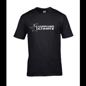 T-shirt Noir design joueur FU
