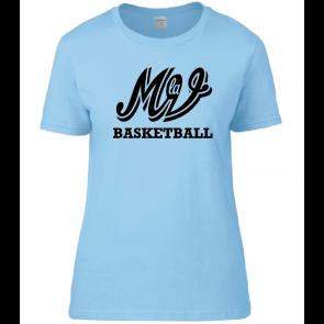 T-shirt Ciel Femme Family MLV Basket
