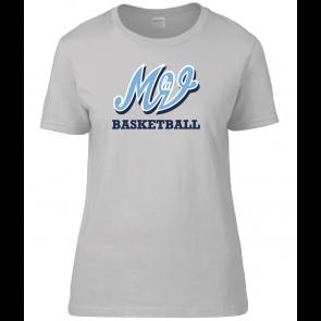 T-shirt Gris Femme Family MLV Basket