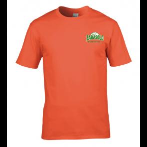 T-shirt Orange Zarasclo Basket