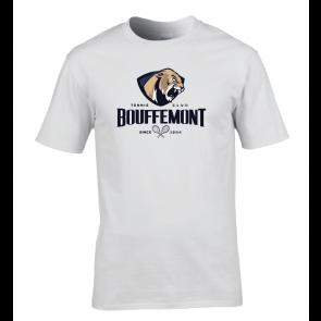 T-shirt Blanc Coton Bouffemont Tennis Club