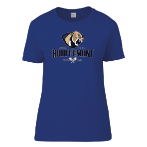 T-shirt Royal Coton Femme Bouffemont Tennis Club