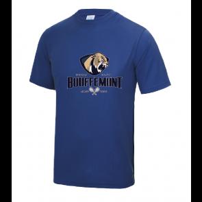 T-shirt Royal Polyester Bouffemont Tennis Club