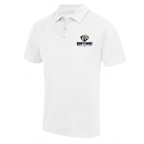 Polo Blanc Polyester Bouffemont Tennis Club