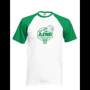 T-shirt Contrasté Montigny Basket