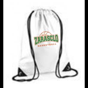 Sac Ficelle Blanc Zarasclo Basket