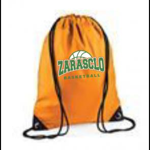 Sac Ficelle Orange Zarasclo Basket