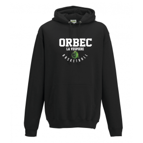 Sweat uni Noir Orbec Basket