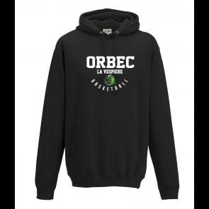 Sweat uni Noir Orbec Basket