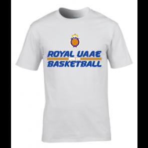 T-shirt Blanc UAAE Basket